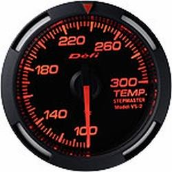 Defi Red Racer Temperature Gauge Imperial 52mm 100-300F