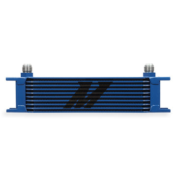 10 Row Oil Cooler - Blue