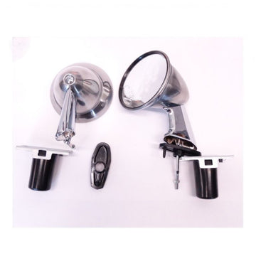 OEM Genuine Nissan Chrome Fender Mirrors (Pair)