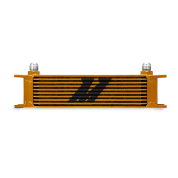 10 Row Oil Cooler - Gold
