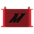 25 Row Oil Cooler - Red