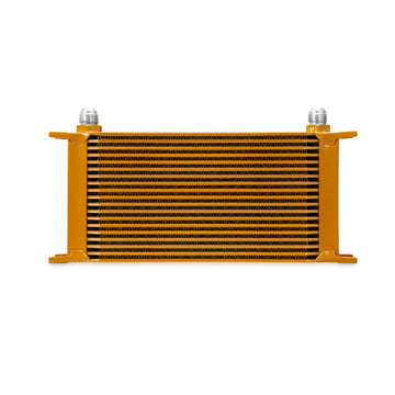 19 Row Oil Cooler - Gold