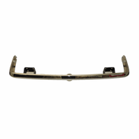 Chrome Rear Bumper Without Override Holes 1968-69 (510)
