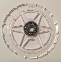 Clear SSR Longchamp Wheel Fidget Spinner