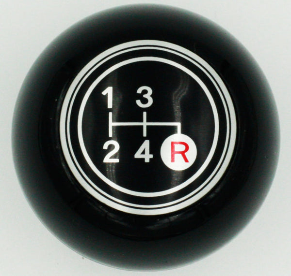 Black 4 Speed Shift Knob