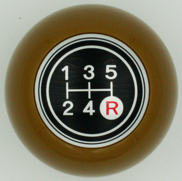 Brown 5 Speed Shift Knob