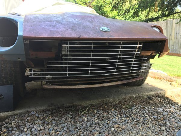 Front Grill 1974.5-78 (260Z / 280Z)