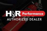 H3R Performance Fire Extinguisher Seat Mounts SM01BK