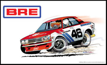 "BRE Datsun 510 ""Big Deal"" Banner 3' X 5'"