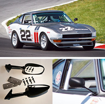 BRE Datsun Mirror Kit 1970-78 (240Z / 260Z / 280Z)