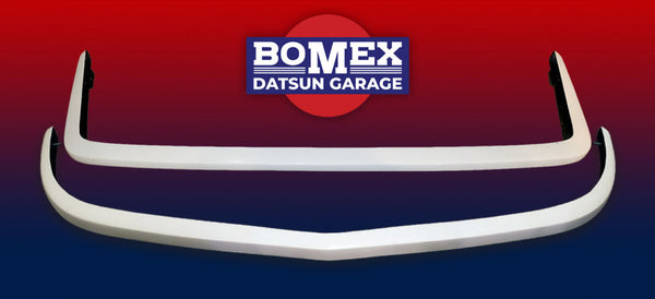 Bomex/Datsun Garage Lightweight Fiberglass Front and Rear Bumper Set 1970-72 (240Z)