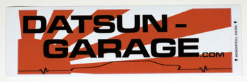 "Datsun Garage 510 Coupe ""Lifeline"" Decal"