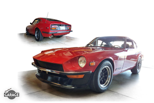 Chrome Bumper with Rubber Strip 1970-72 (240Z)