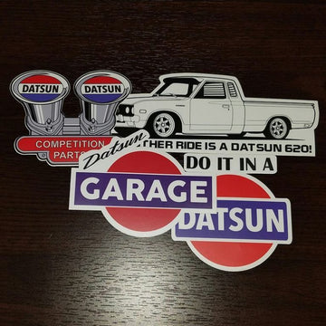 My other ride is a Datsun 620 Pack