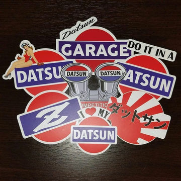 Datsun Decal Collection