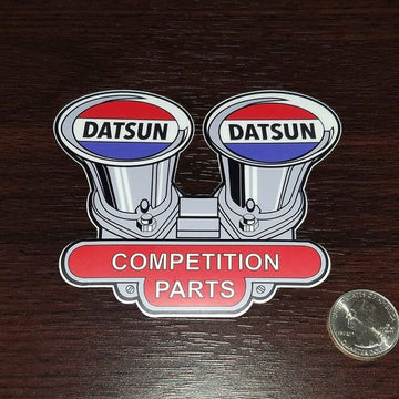 Datsun Competition Parts Decal