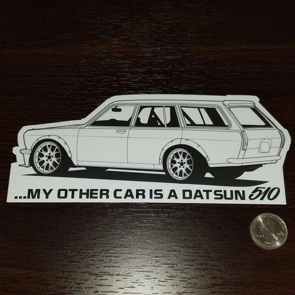 My other car is a Datsun 510 (Wagon)