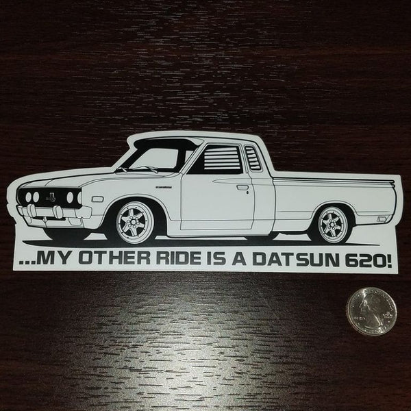 My other ride is a Datsun 620