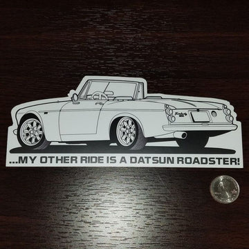 My other ride is a Datsun Roadster