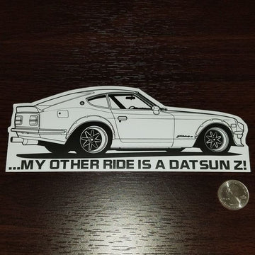 My other ride is a Datsun Z