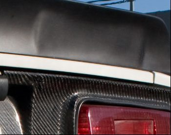 Fairlady 432 Style Fiberglass Rear Spoiler 1970-78 (240Z / 260Z / 280Z) Coupe Only