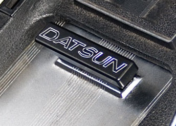 "Billet Aluminum ""DATSUN"" Ash Tray Handle 1972-78 (240Z / 260Z / 280Z)"