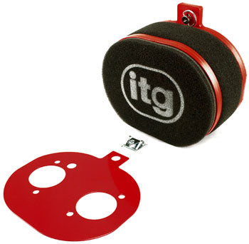 ITG Single Air Cleaner for Triple Carburetor Setup