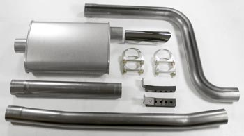 Performance Exhaust For 3-2 Headers 1970-78 (240Z / 260Z / 280Z)