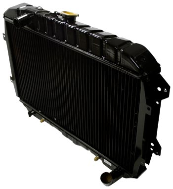 Stock Replacement Radiator 1970-83 (240Z / 260Z / 280Z / 280ZX)