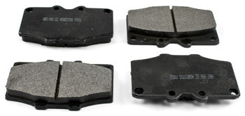 Street Performance Semi-Metallic Brake Pads for Four Piston Upgrade Calipers 1970-78