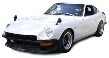 Urethane Air Dam With Brake Cooling Ducts 1970-8/74 (240Z / 260Z)