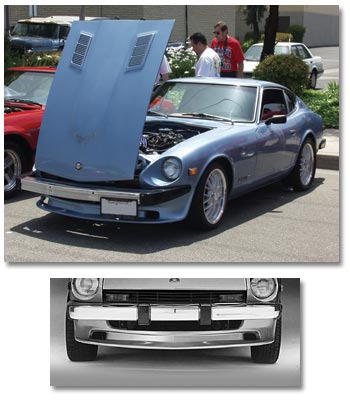 Urethane Air Dam With Cooling Ducts 9 1974 78 280z