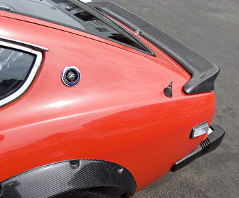 Carbon Fiber Classic Rear Spoiler 1970-78 (240Z / 260Z / 280Z) Coupe Only