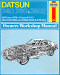 Haynes Repair Manual for 1970-78 (240Z / 260Z / 280Z)