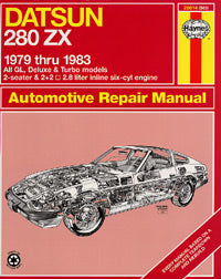Haynes Repair Manual for 1979-83 (280ZX)