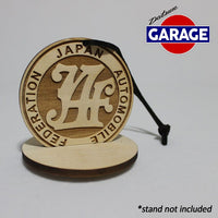 Japan Automobile Federation (JAF) Christmas Ornament
