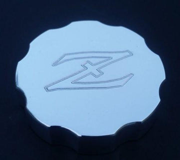Polished billet Z Logo Clutch Reservoir Cap Cover 1970-83 (240Z / 260Z / 280Z / 280ZX)