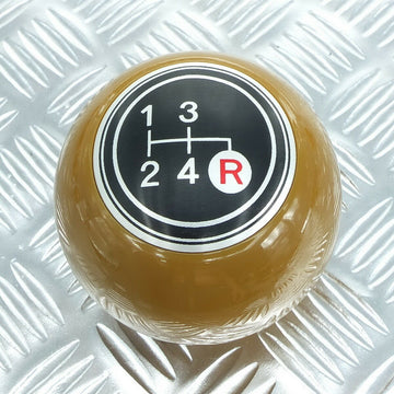 Brown 4 Speed Shift Knob