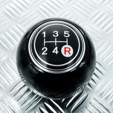 Black 5 Speed Shift Knob