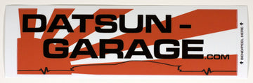 "Datsun Garage S30 ""Lifeline"" Decal"