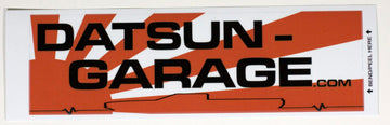 "Datsun Garage Truck ""Lifeline"" Decal"