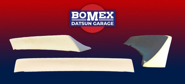 Bomex/DG Fiberglass Type-V Rear Spoiler 1970-78 (240Z / 260Z / 280Z) Coupe Only