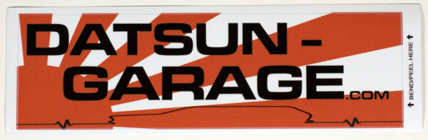 "Datsun Garage 510 Wagon ""Lifeline"" Decal"