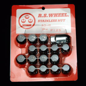 RS Watanabe Stainless Steel Tapered Lug Nuts
