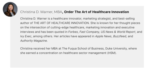 Christina D. Warner, MBA