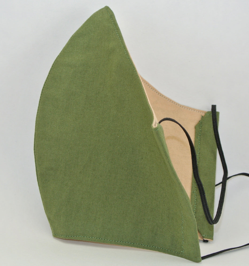 Army Green Face Mask (Adult)