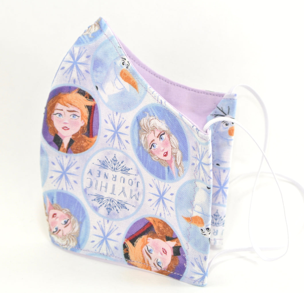 Children's and Youth FROZEN Face Mask