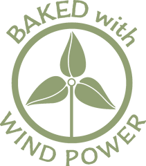 Baked with wind power
