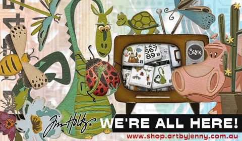 Sizzix chapter two, 2021 has arrived inStore at Art by Jenny