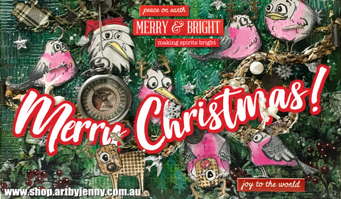 Merry Christmas from all of us at Art by Jenny in South Australia